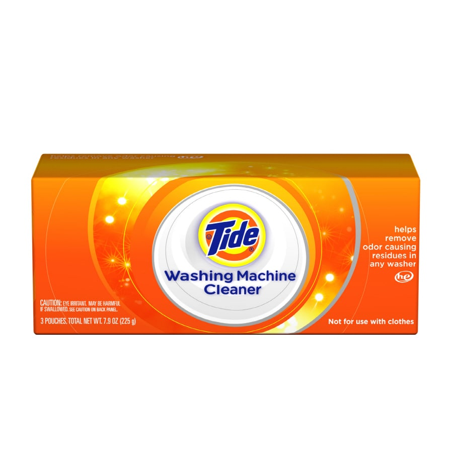 Tide 3 Count Washing Machine Cleaner Packets