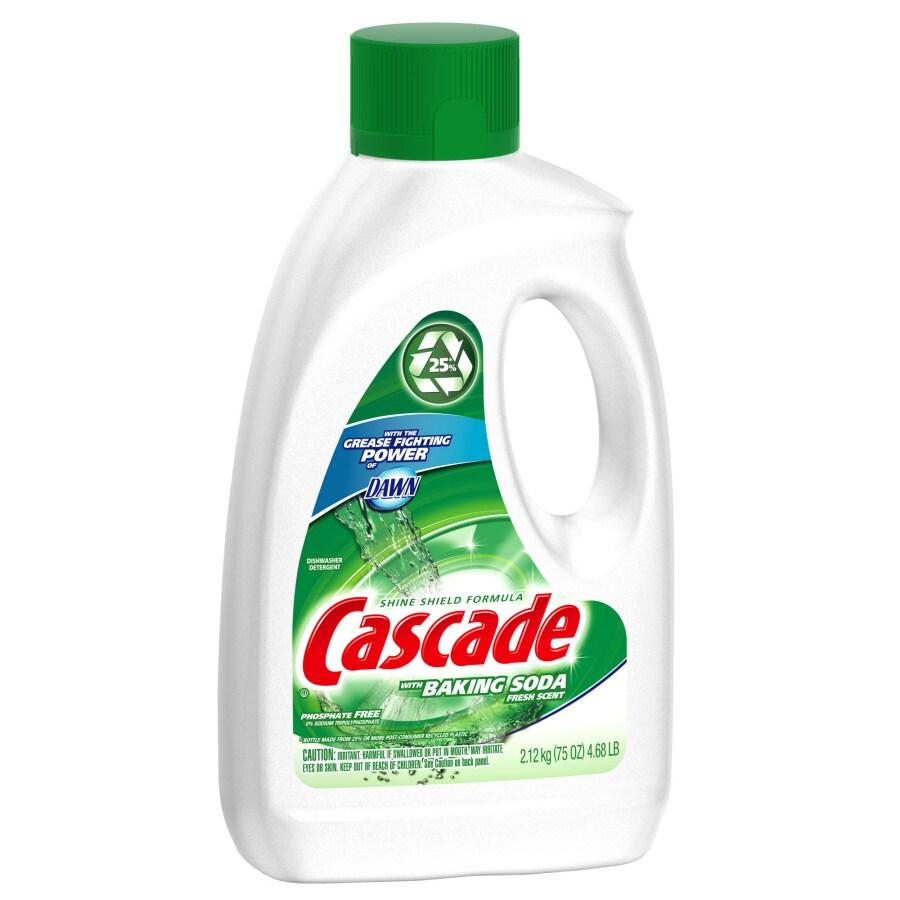 Cascade 75 Oz Dishwashing Detergent With Baking Soda