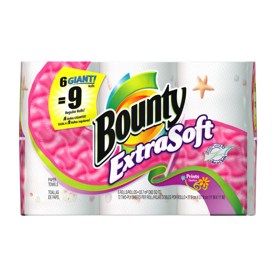 Bounty 6-Pack Toilet Paper