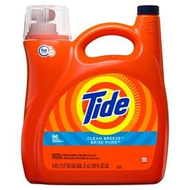 Tide 150-fl oz Clean Breeze HE Liquid Laundry Detergent