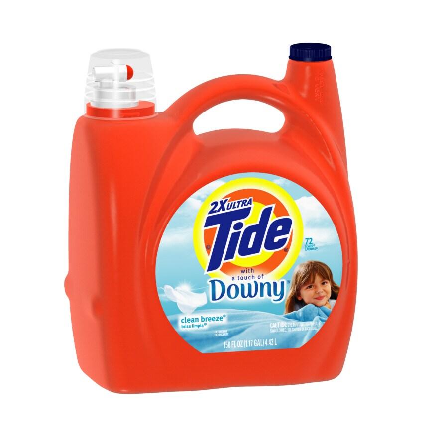 Tide Liquid 150-oz Clean Breeze Laundry Detergent