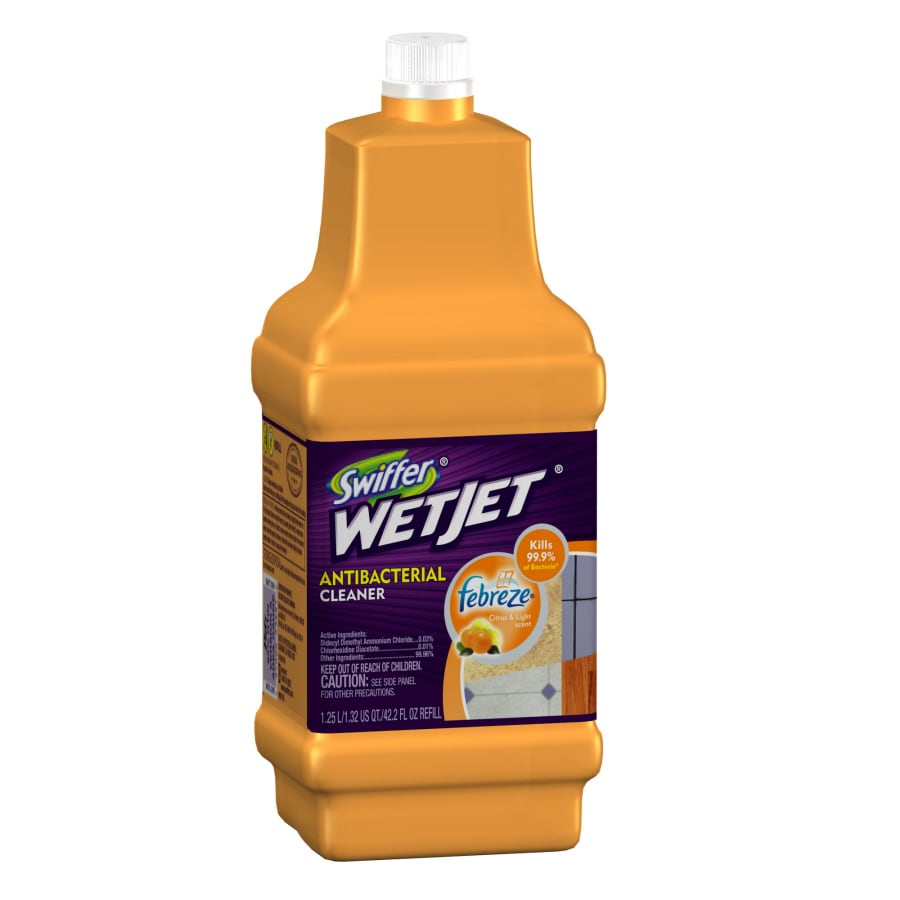 Swiffer WetJet Wetjet 42.2-oz Citrus and Light All-Purpose Cleaner