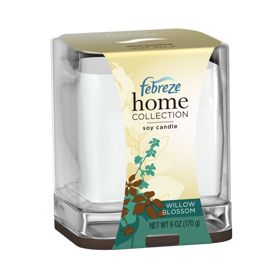 Febreze Soy Blend Willow Blossom Candle