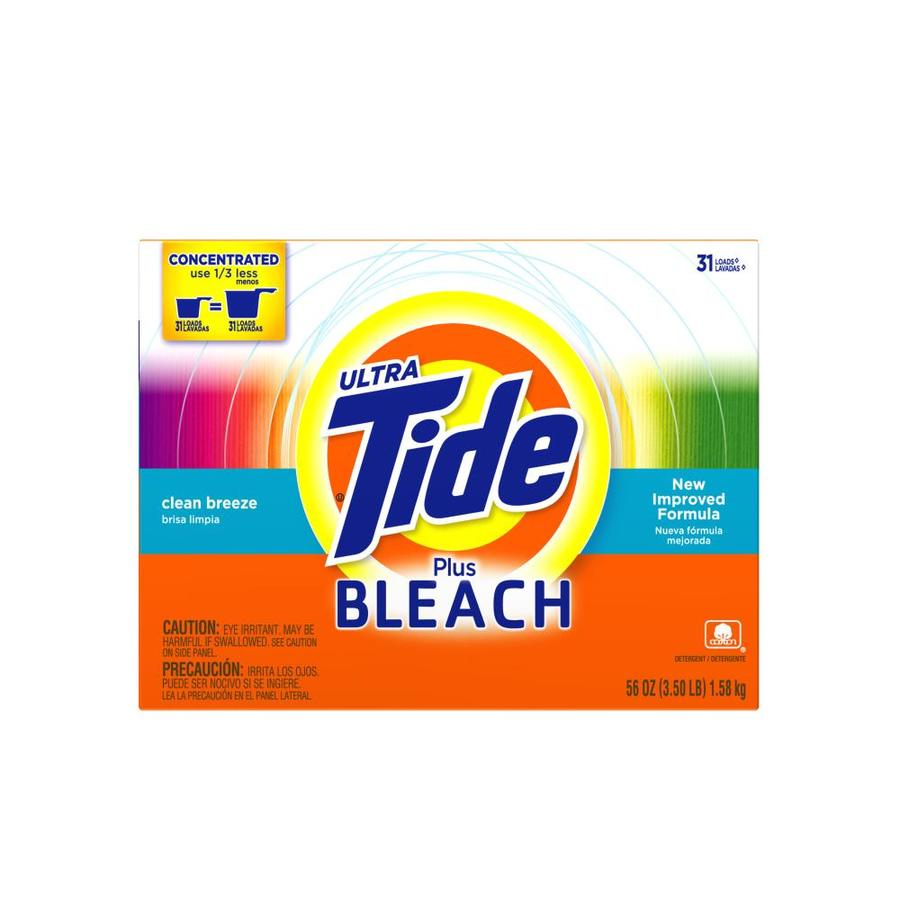 Tide 56-oz Powder Laundry Detergent with Bleach
