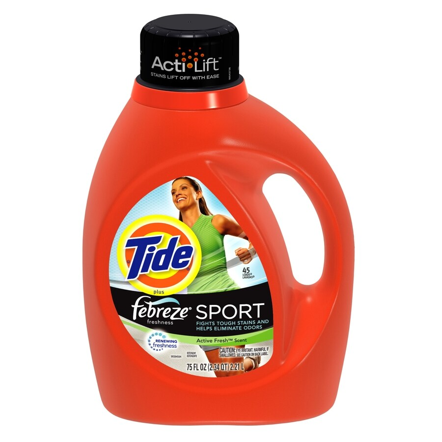 Tide Liquid 75-oz Sport Laundry Detergent