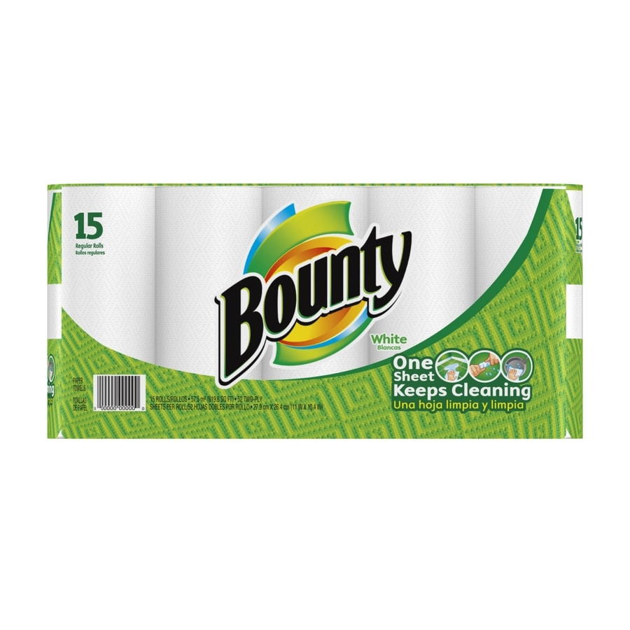 Bounty 15-Roll Paper Towels