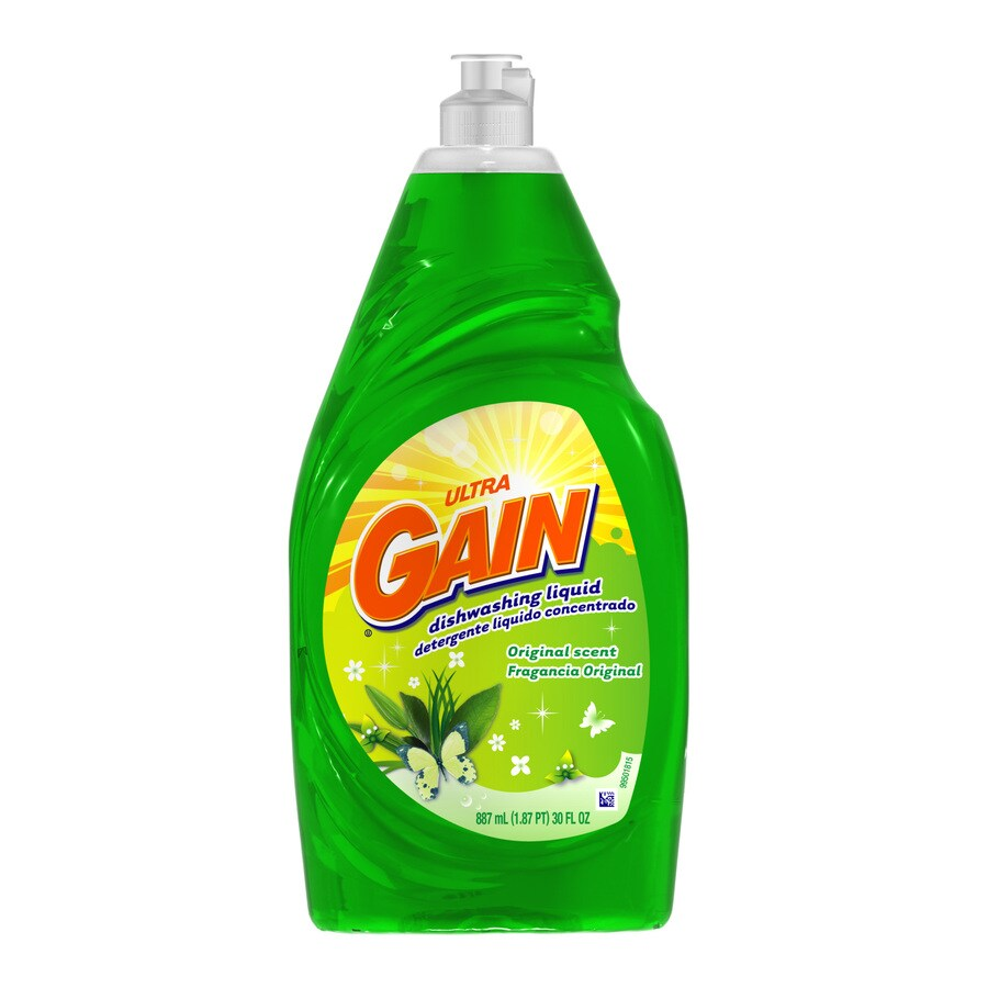 Gain 30-oz Dishwashing Liquid Original