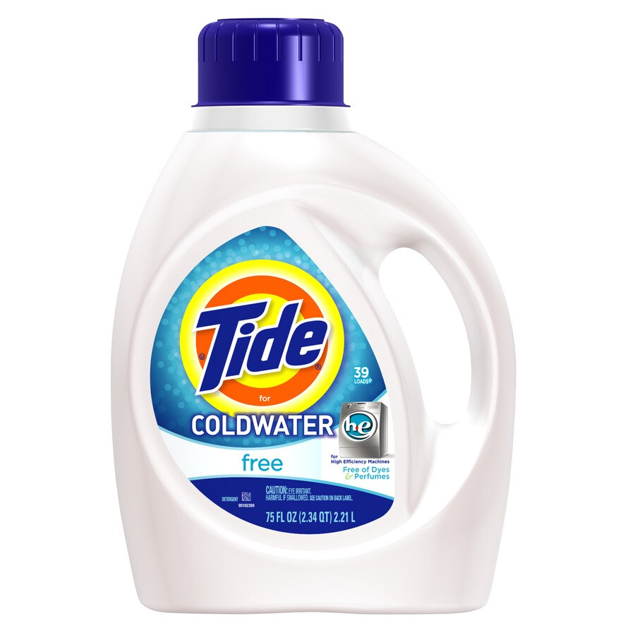 Tide 75-oz Coldwater HE Free Liquid