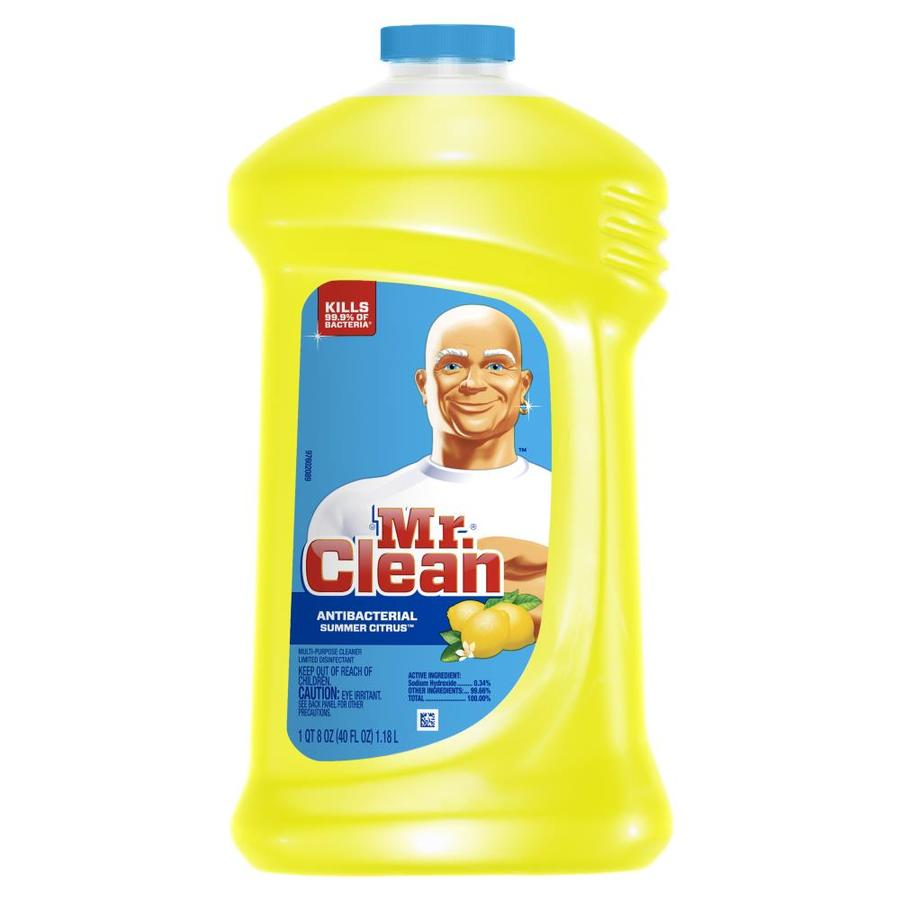 Linoleum Flooring Lowes >> Shop Mr. Clean Liquid 40-oz Summer Citrus All-Purpose Cleaner at Lowes.com