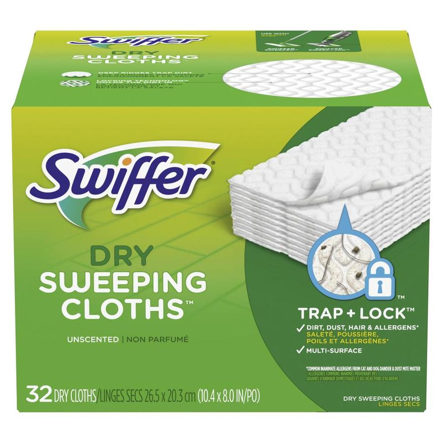 Swiffer Sweeper Dry 32 Pack Refill At Lowes Com