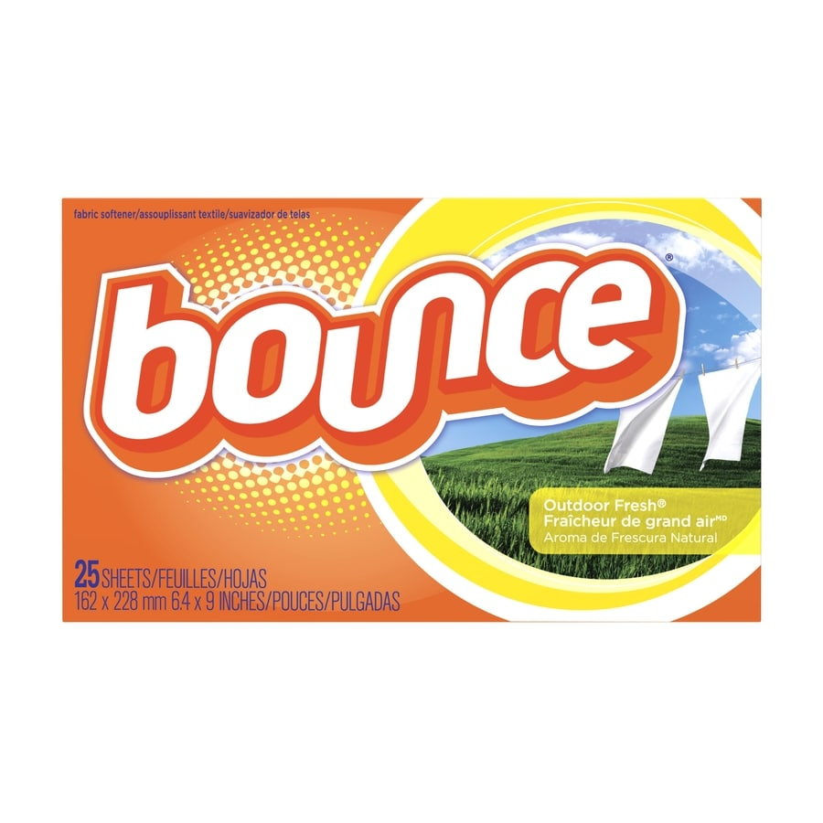 Bounce 25-Count Outdoor Fresh Dryer Sheets
