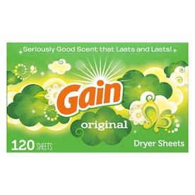 Gain 120 Count Fabric Softener