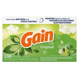 Gain 120 Count Fabric Softener
