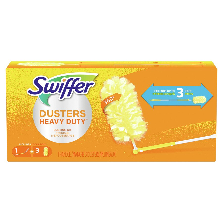 Swiffer Microfiber Telescoping Handle Dusting Wand