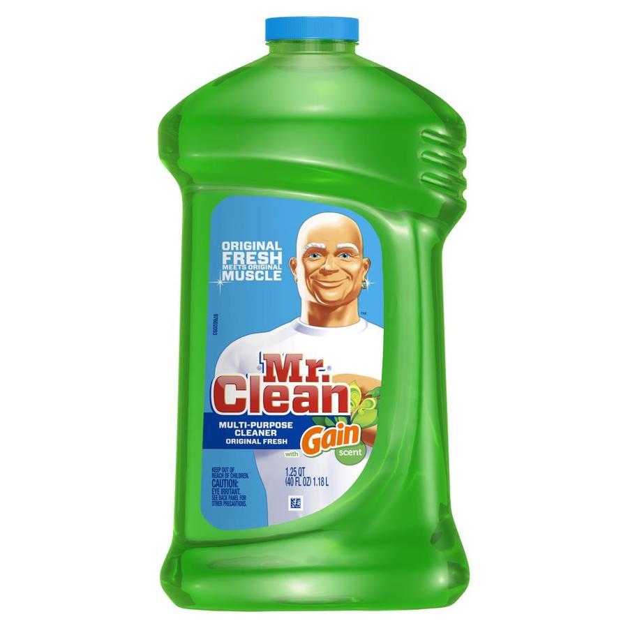 Shop Mr Clean Liquid 40 Oz Original Fresh Scent All Purpose Cleaner At Lowes Com