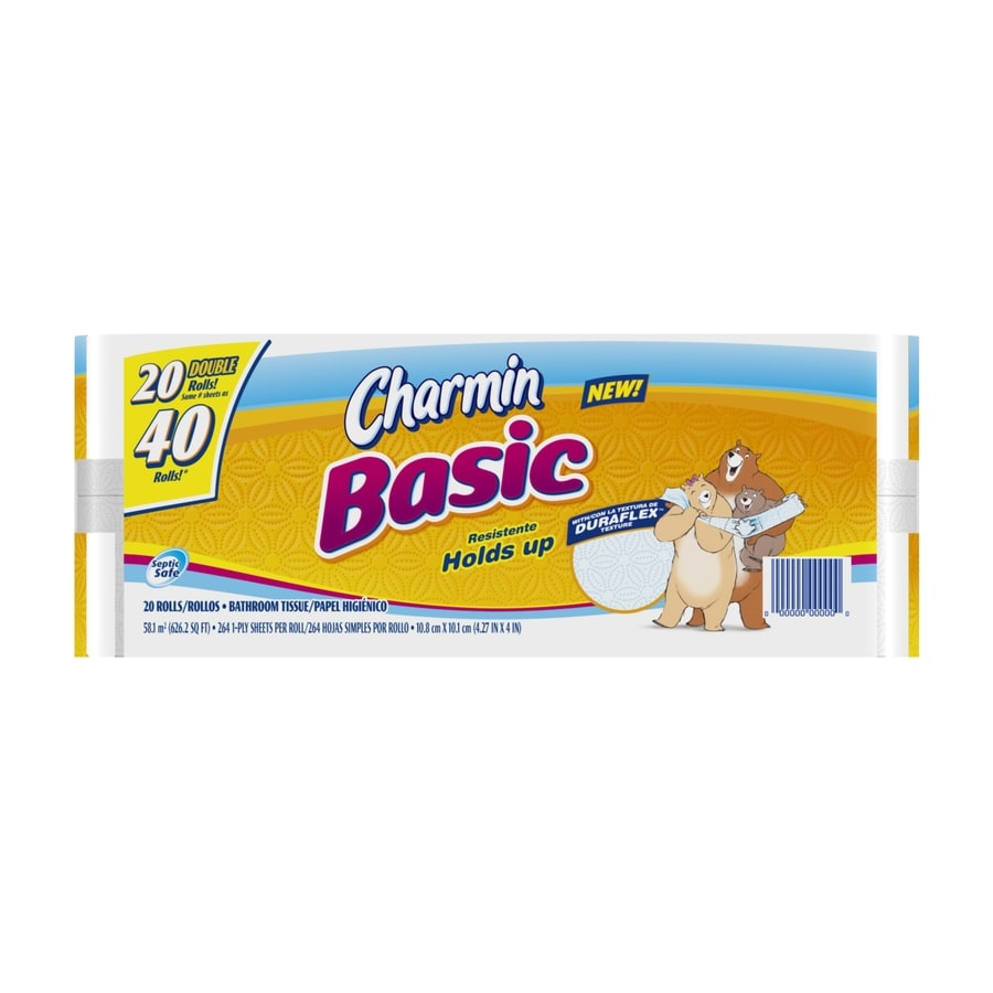 Charmin 20-Pack Toilet Paper