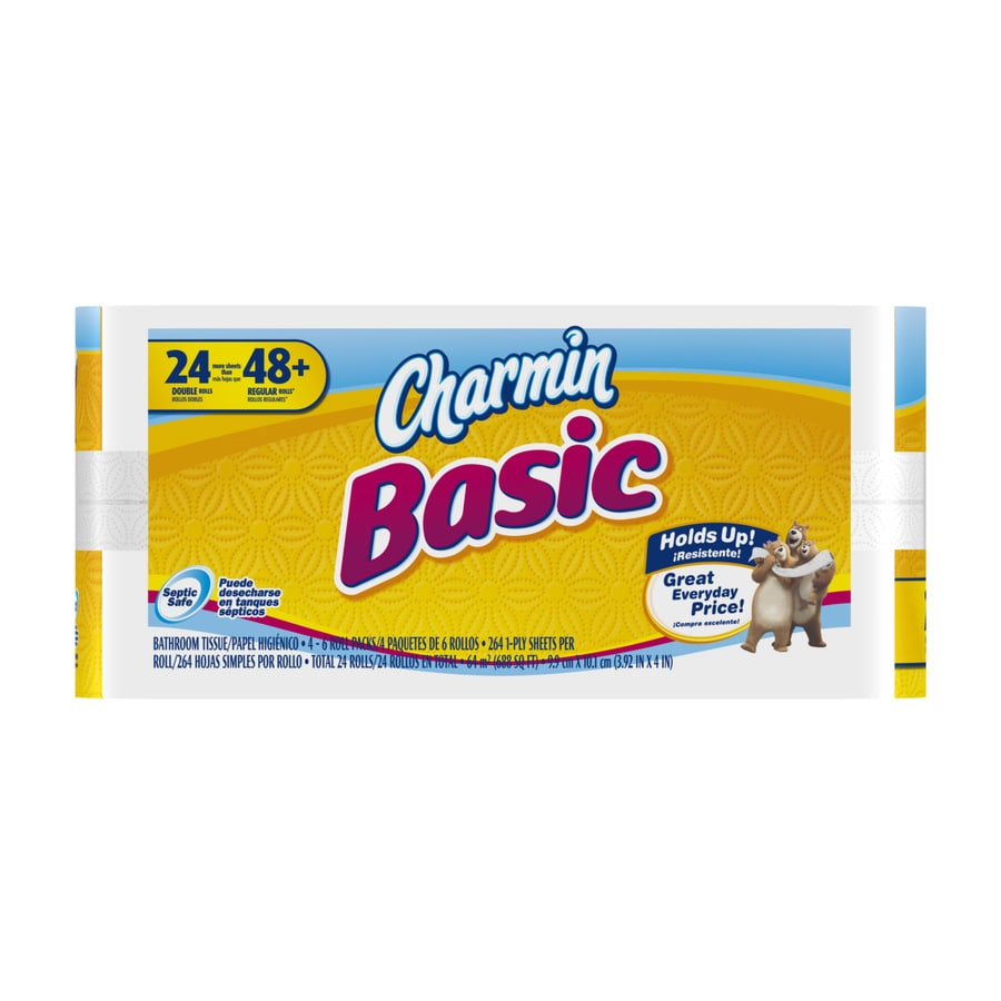 Charmin Basic 24-Pack Toilet Paper