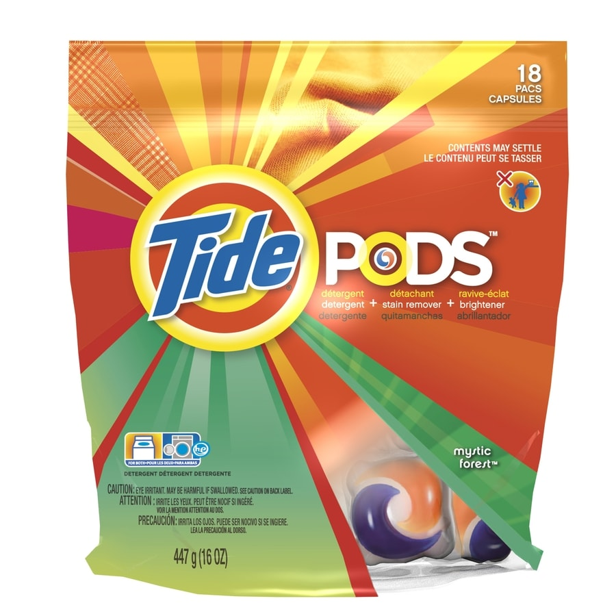 Tide Pods 18-Count Mystic Forest HE Laundry Detergent