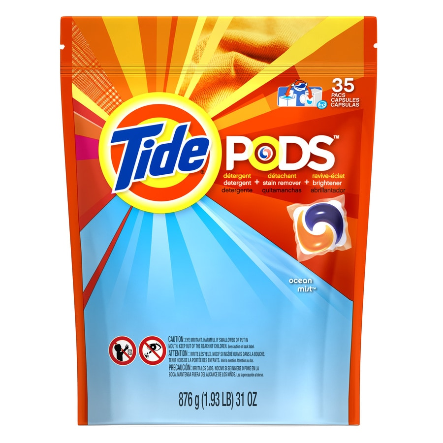 Tide Pods 35-Count Ocean Mist HE Laundry Detergent