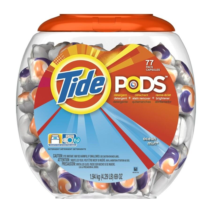 Tide Pods 77-Count Ocean Mist Laundry Detergent