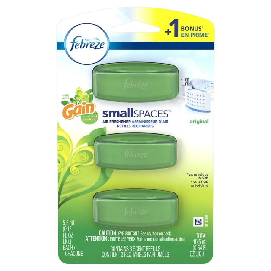 Shop Febreze Small Spaces Air Freshener Refills with Gain Scent ...