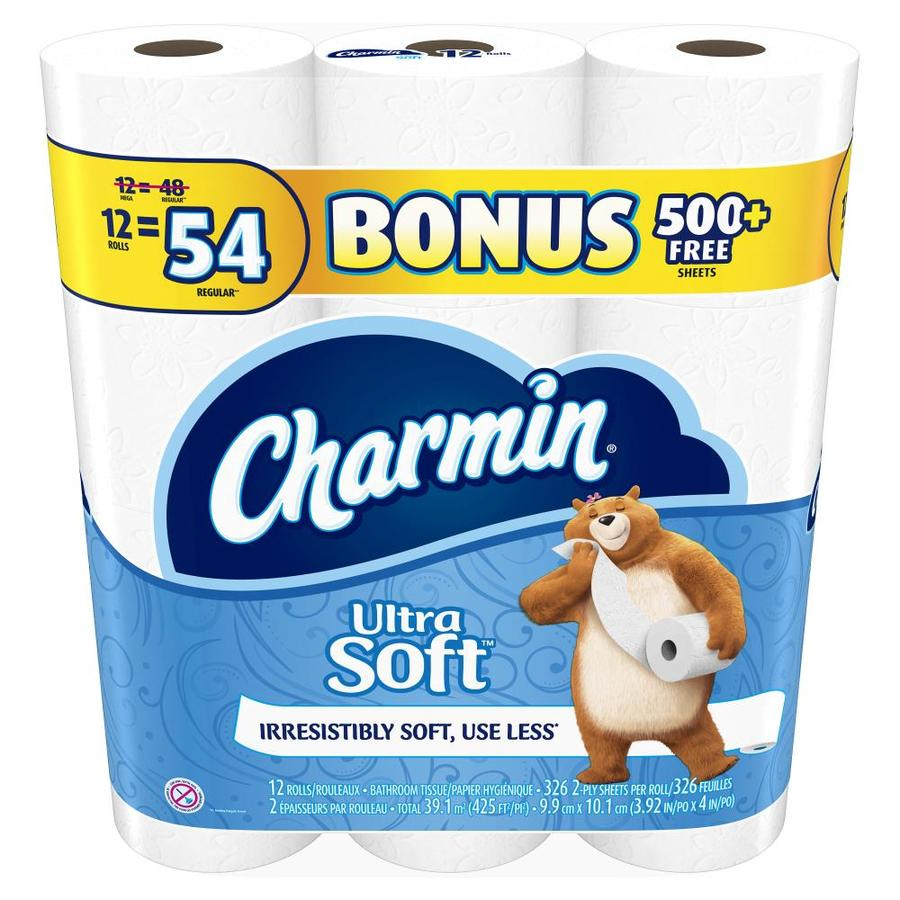 Charmin 12-Pack Toilet Paper