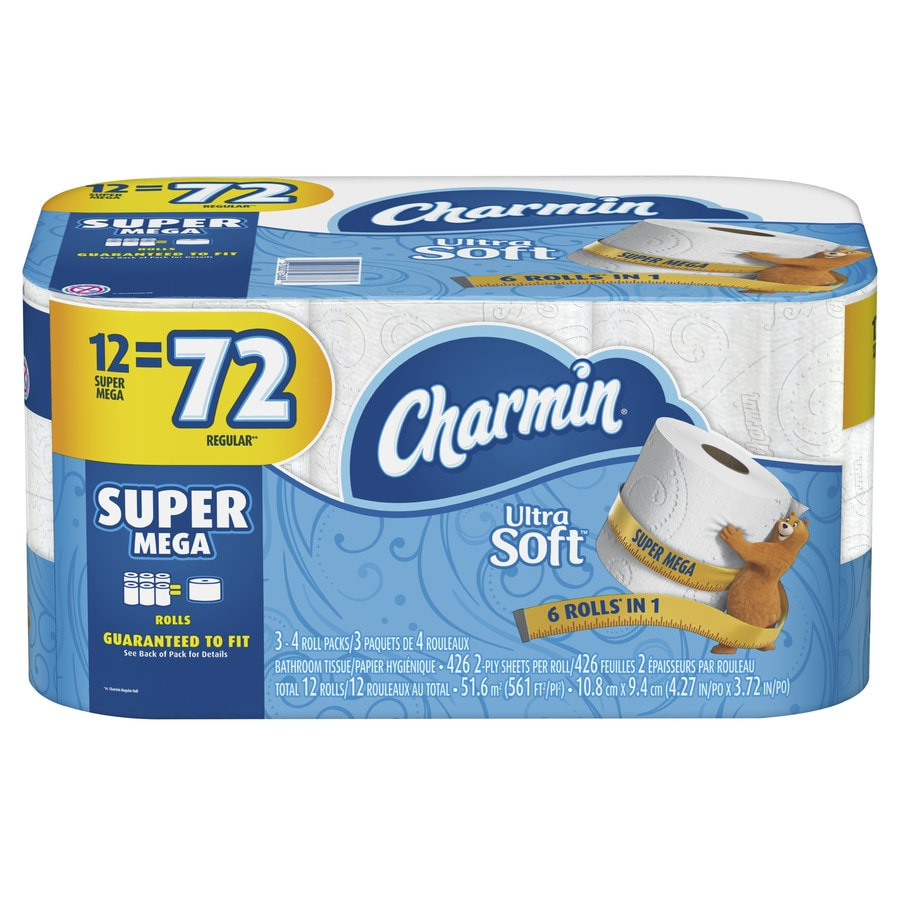 Charmin 12 Pack Toilet Paper At Lowes Com