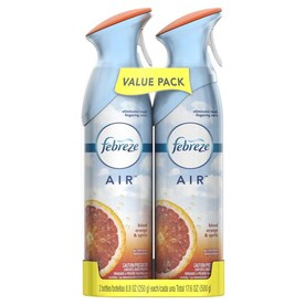 Febreze AIR 2-Pack Blood Orange and Spritz Spray Air Freshener