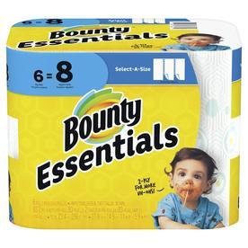 Bounty Essentials Paper Towel 6BR SAS White