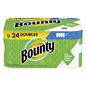 Bounty Double 12-Count Paper Towels
