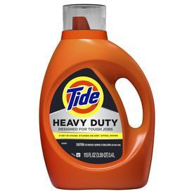Tide Heavy Duty 115-fl oz Original HE Liquid Laundry Detergent