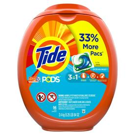 Tide Pods Laundry Detergent Pacs Clean Breeze Scent - 96ct