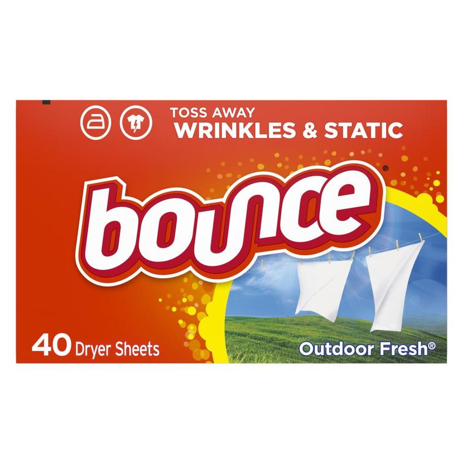 Bounce 40-Count Fabric Softener