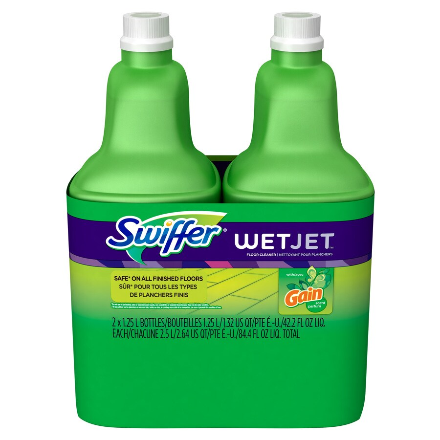 Swiffer 2 Pack 1 25 Fl Oz Hardwood Floor Cleaner At Lowes Com