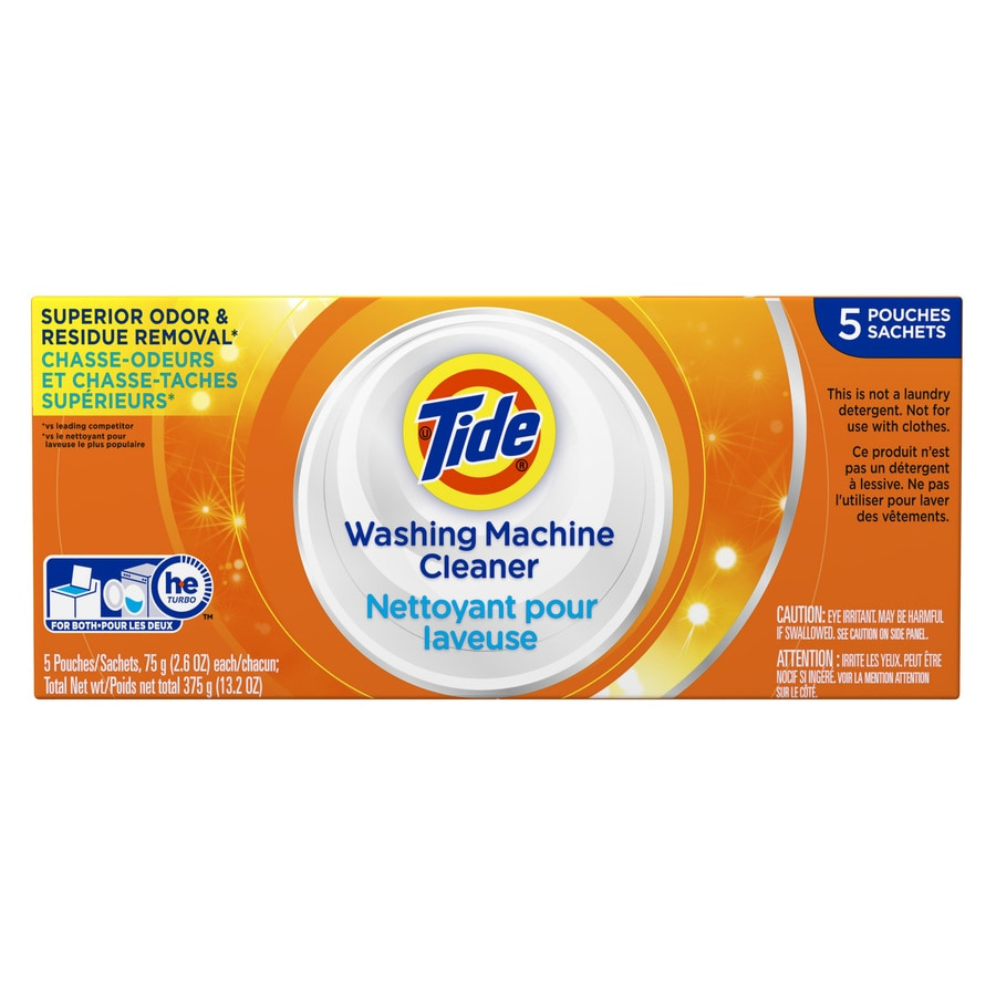Tide 5 Count Washing Machine Cleaner Packets