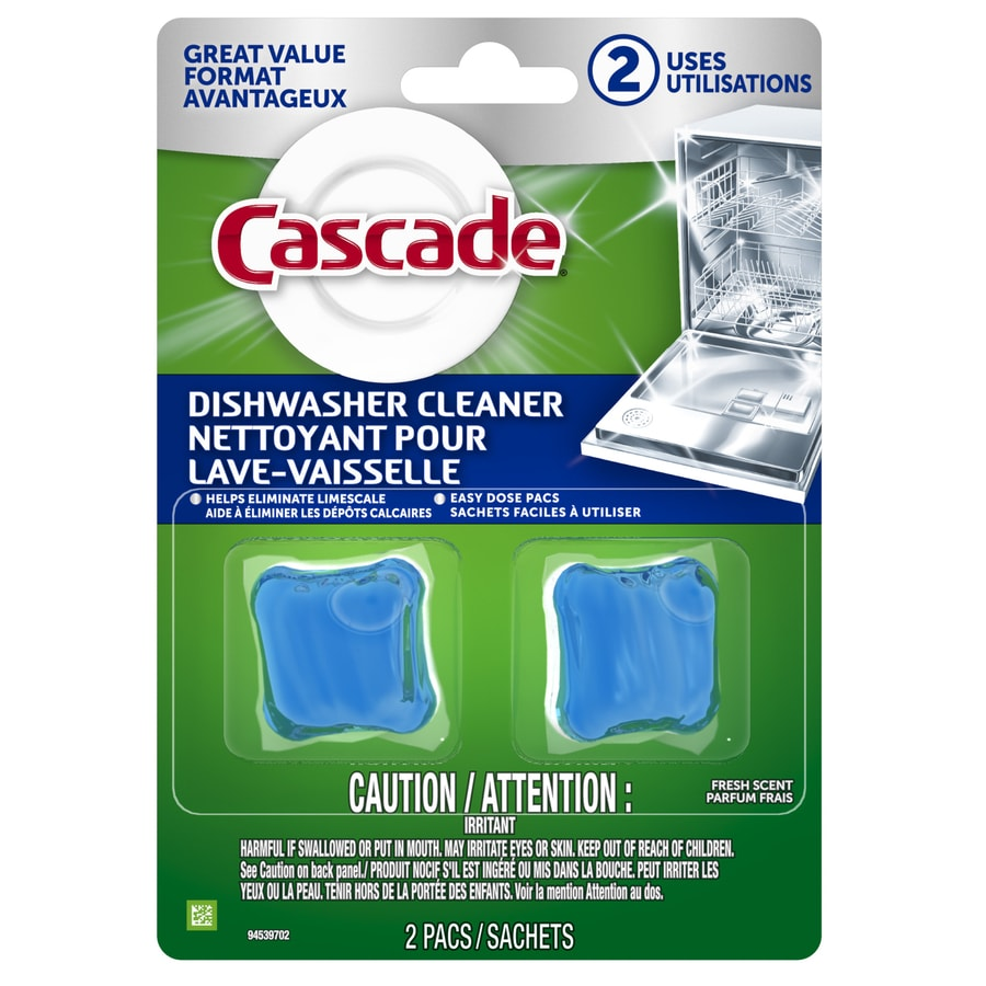 Cascade 2-Pack Regular Dishwasher Detergent