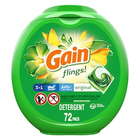 Gain 72 Count Original HE Laundry Detergent
