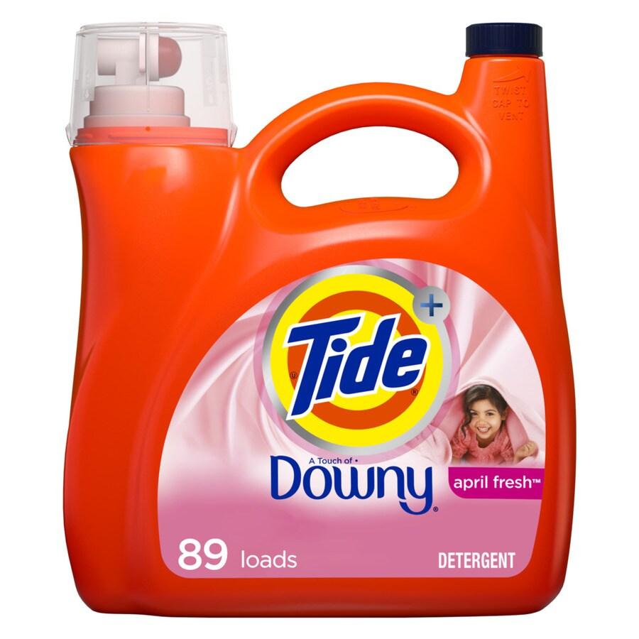 Tide 138-fl oz April Fresh HE Laundry Detergent