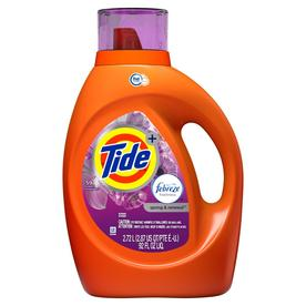 Tide Plus Febreze 92-fl oz Spring and renewal HE Liquid Laundry Detergent