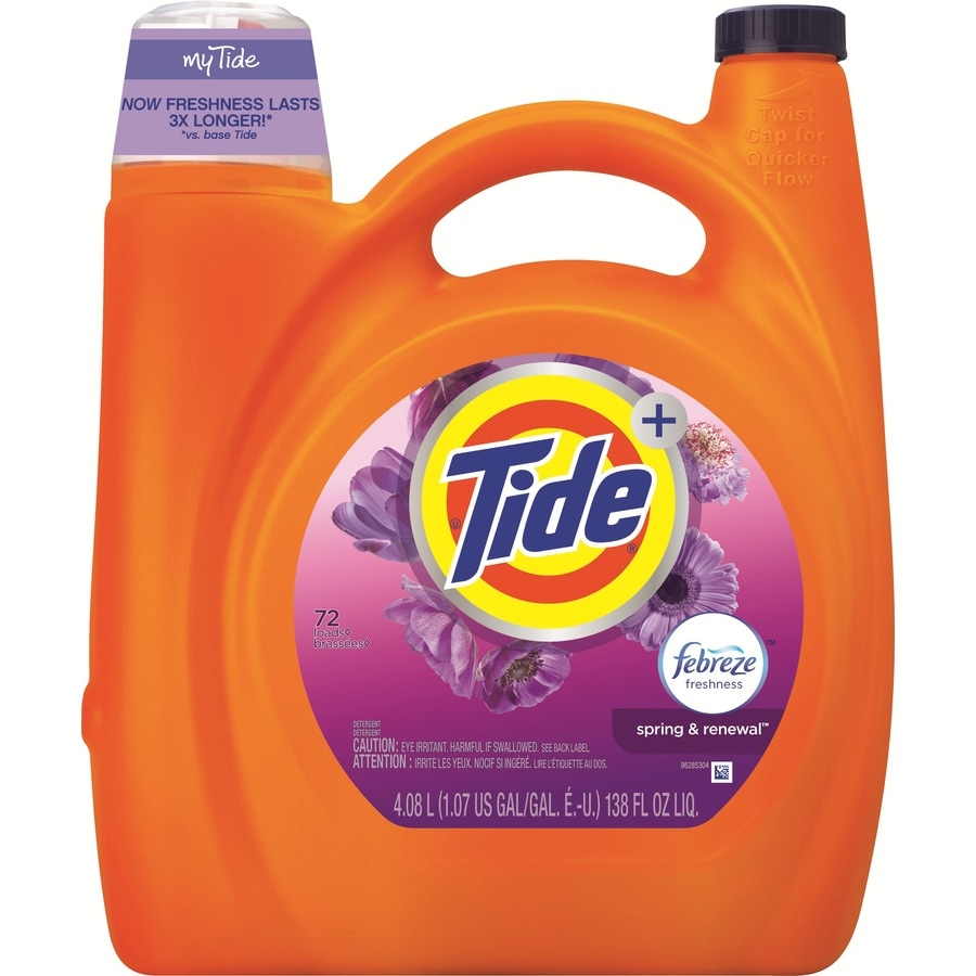 Tide 138-fl oz Spring and Renewal Laundry Detergent