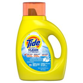 Tide Simply Clean and Fresh 40-fl oz Refreshing Breeze HE Laundry Detergent