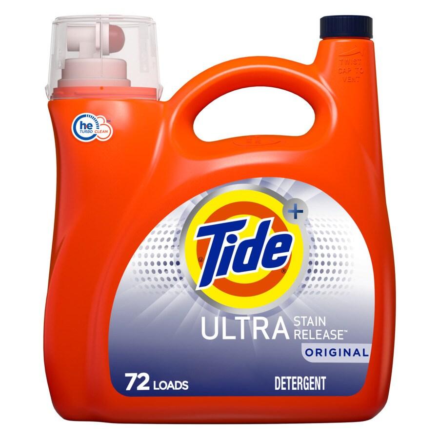 Tide 138-fl oz Original HE Laundry Detergent