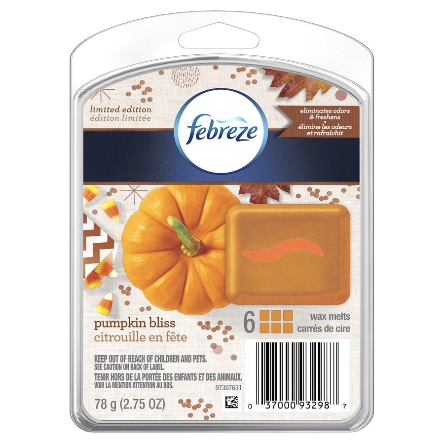 Febreze 2.75-oz Pumpkin Bliss Any Occasion Tea Light Candle