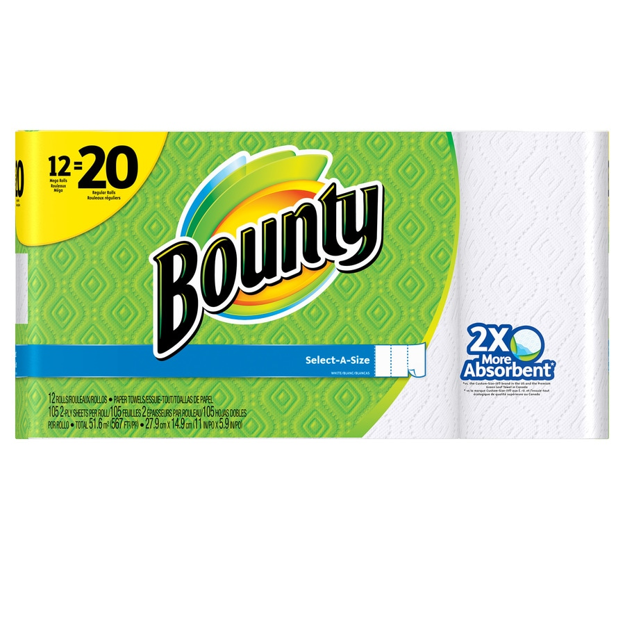Bounty 12-Count Paper Towels