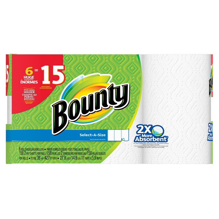 Bounty 6-Count Paper Towels