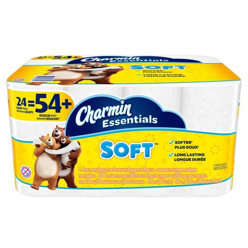 Charmin Essentials Soft 24-Pack Toilet Paper at Lowes.com