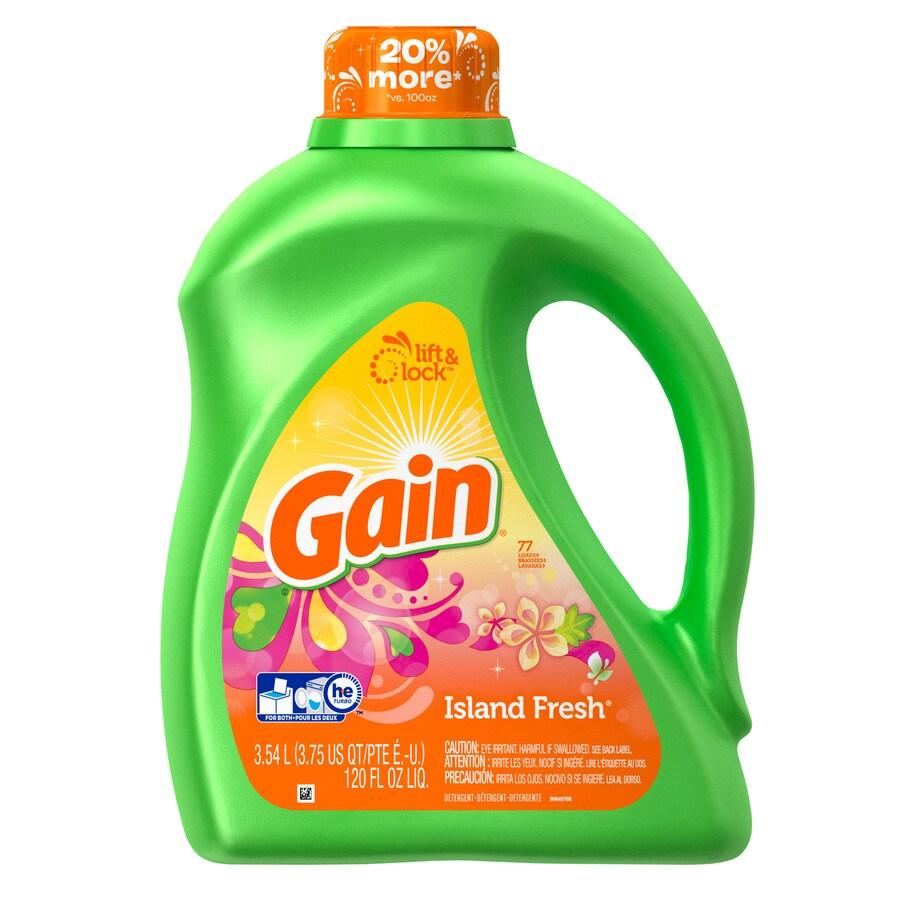 Gain 120-fl oz Island Fresh High-Efficiency Laundry Detergent