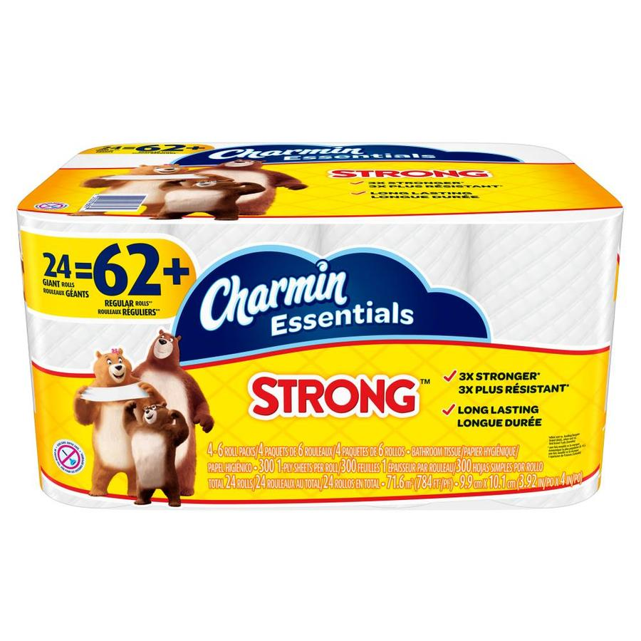 Charmin Essentials 24 Pack Toilet Paper At Lowes Com