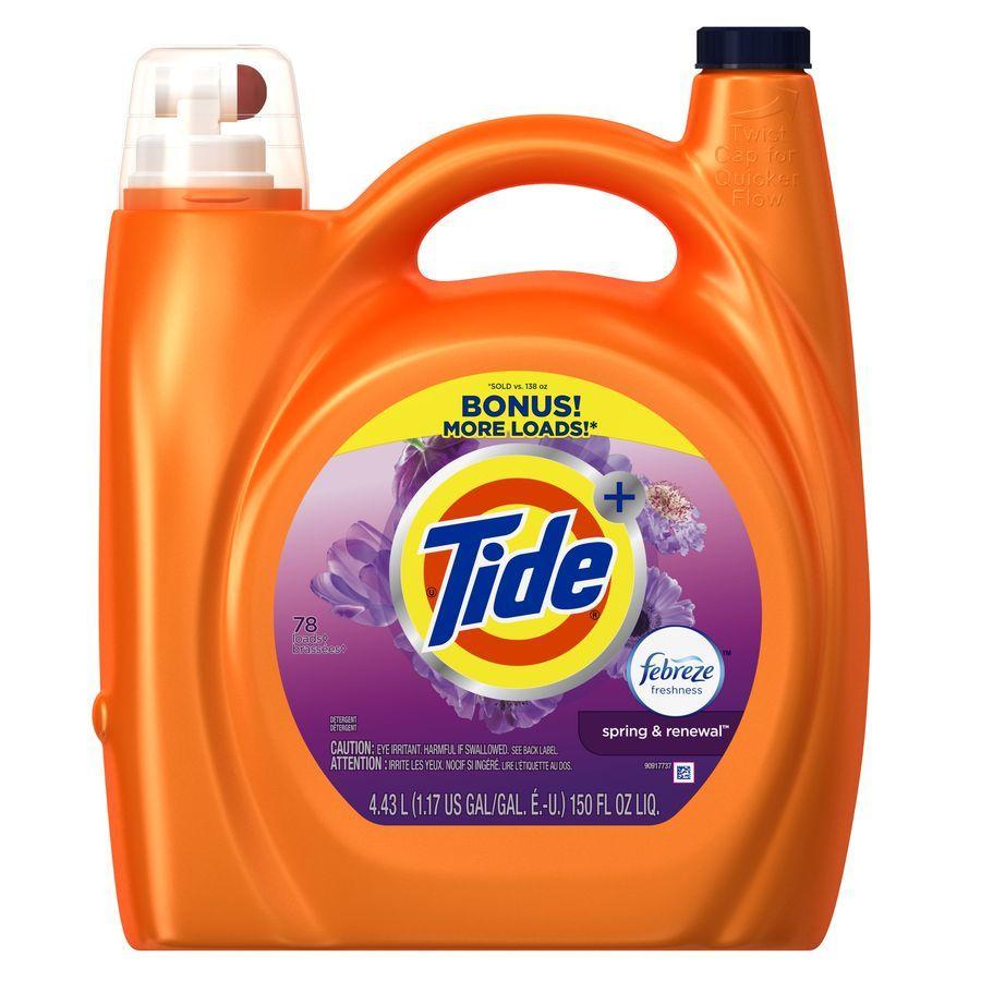 Tide 150-fl oz Spring Laundry Detergent