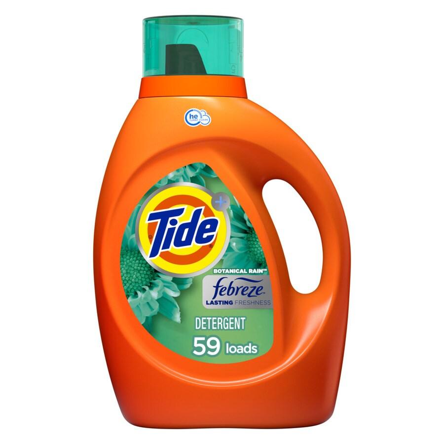 Tide 92-fl oz Botanical Rain HE Laundry Detergent